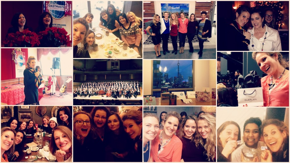 From holiday parties to ladies brunches, from Body Blitz to the Messiah... good times!