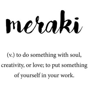 meraki definition